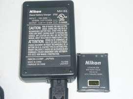 Cargador MH63 P/nikon ENEL10 original
