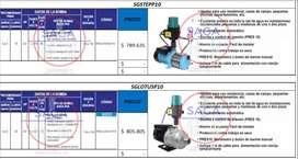 Presurizador Individual Compacto, Hidroflow, Hidroneumatico