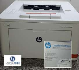 Impresora HP M203DW. Laser B/N.