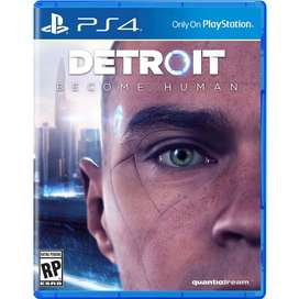 Juego Detroit Become Human Ps4 Playststion 4 Nuevo Sellado
