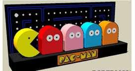 dioramas pacman