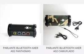 Parlante bluetooth axer A02