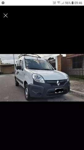 Renault Kangoo Confort 5 Asientos 2015 gnc aire