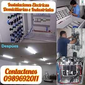 Instalaciones Eléctricas Residenciales e industriales