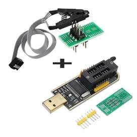 Excelente Kit CH341A Programador de Eeprom Usb