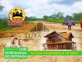 TERRENOS EN VENTA EN QUINTAS RANCHO SPONDYLUS EN PILE MONTECRISTI MANABÍ SUR DE MANTA, 100 USD DE ENTRADA, S1