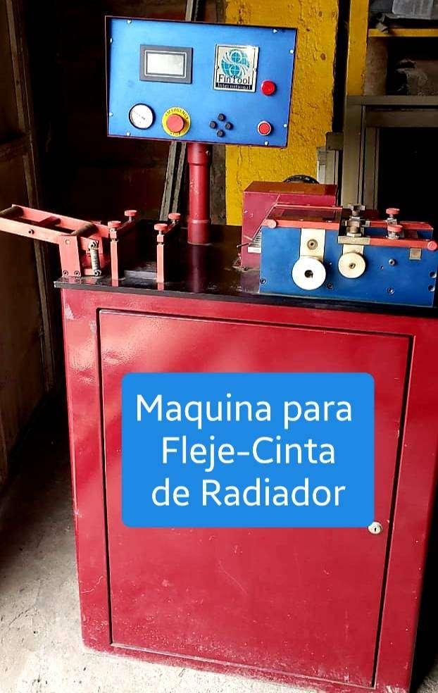 Vendo Fabricadora de Fleje Cinta ranurada de radiador