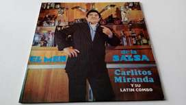 Carlos Miranda El Men de La Salsa Lp