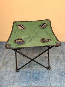 Mesa plegable camping