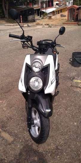 Yamaha bws x excelentes condiciones negociable