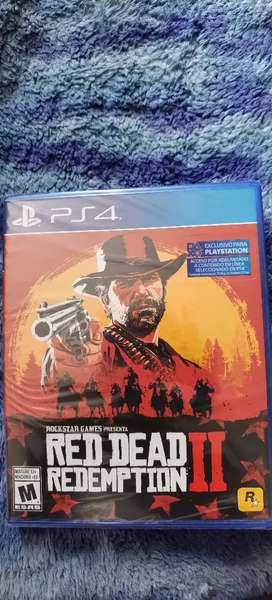 Red dead redemption 2 nuevo ps4