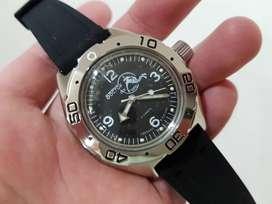 Reloj Ruso Automático Vostok Amphibia Buceo Original Nuevo
