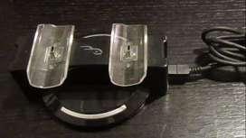 Vendo Cargador Doble Joystick Ps3 + Auricular Bluetooth Ps3/Ps4/PC