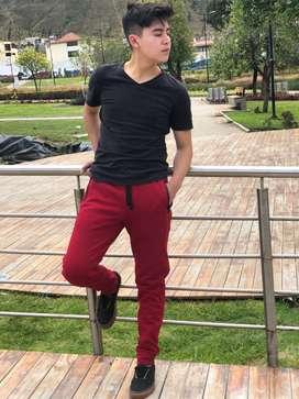 Pantalones deportivos para hombre de algodó  - jogger