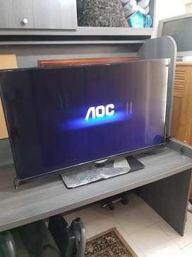 Ganga televisor Aoc de 50 pulgadas Internet x cable