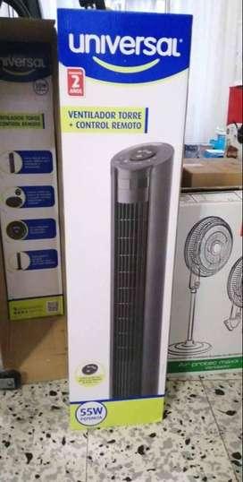 Se vende ventilador universal mas control remoto
