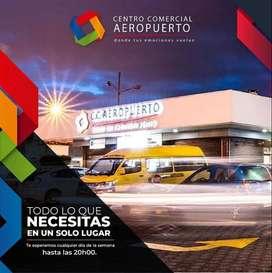 Vendo o cambio con local comercial en el centro comercial Plaza Aeropuerto, (Supermaxi parque Bicientenario)