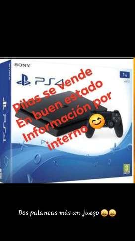 SE VENDE FABULOSO PSP 4 NUEVO DE PAQUETE INCLUYE 2 PALANCAS NEGOCIABLE