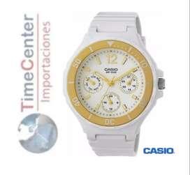 Reloj Casio Analógico, Multifunción Para Mujer Lrw-250h-9