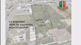 Se vende terreno en Santa Rosa a 1 cuadra de la vía ambato Guaranda