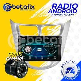 RADIO ANDROID HYUNDAI ACCENT GPS BT USB WIFI BETAFIX DESDE