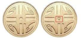 Monedas de 200 pesos 5 puntos