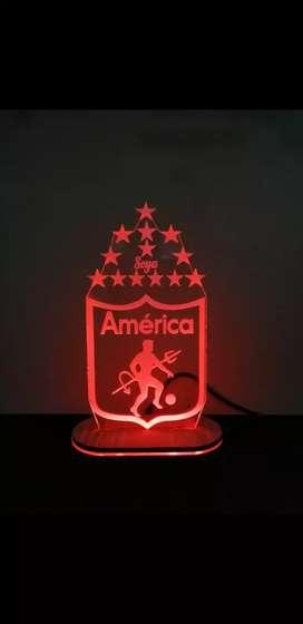 Personaliza tu lampara en acrilico