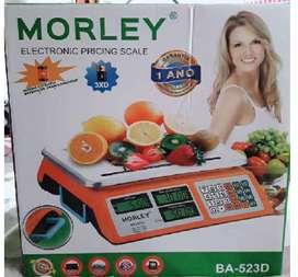 BALANZA ELECTRÓNICA DIGITAL COMERCIAL MORLEY -Pesa hasta 40 Kg. - NUEVA !!!