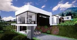 Casa con diseño moderno ajustable a gusto cliente