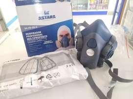 Combo Astara máscarilla, Filtro de gases, acople, Filtro de Polvo