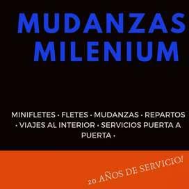 Servicio de Mini fletes,Fletes,Mudanzas en Gral,repartos,TRABAJOS POR AIRE ESPECIALIZADOS