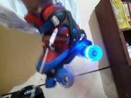Patines 4 ruedas con luces