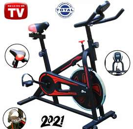 Bicicleta Estática TV Spinning Gimnasio, Eliptica, Ajustable, Sports, Modelo 2021...