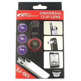 Universal Clip lente ojo de pez lente para celular