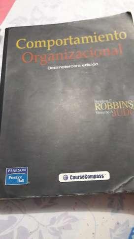 Vendo libro de comportamiento organizacional