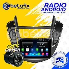RADIO ANDROID PARA CHEVROLET TRACKER GPS BT USB WIFI BETAFIX