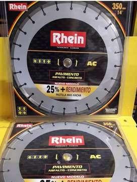 Vendo o permuto discos Rhein 350mm
