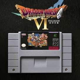Juego DRAGON QUEST 6 para Super Nintendo SNES