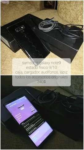 Samsung galaxy note 9 original 128gb / 6ram con pequeño detalle