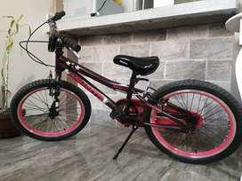 Ocasión venta de bicicleta para niña,  marca Monark MONARETTE, aro 16
