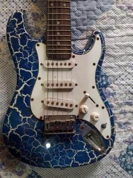 Guitarra Electrica, Funda Y Amplificador