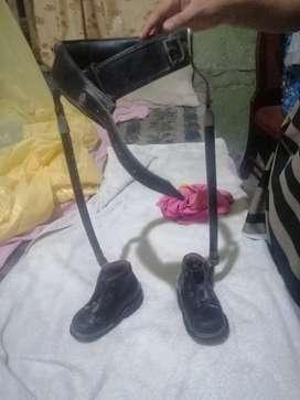 Zapatos Ortopédicos con Manguera