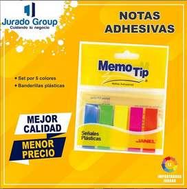 Notas Adhesivas Memo Tip