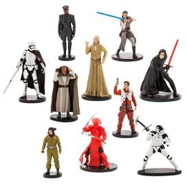 Star Wars The Last Jedi Set Deluxe De 10 Figuras
