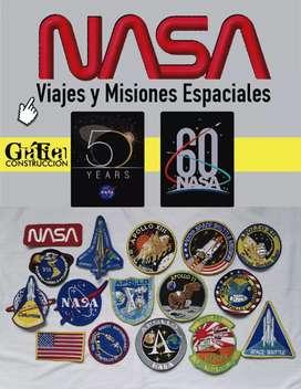 Parches NASA bordados para rejuvenecer y personalizar su maleta, o chaqueta incluso para coleccionar o regalar.