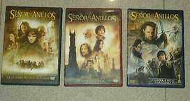 Trilogía Señor de los anillos, Lord Of The Rings, Dvd