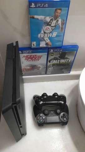 PlayStation 4, con juegos incluidos