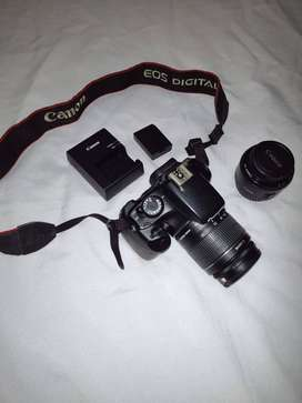 Camara Canon T3, mas lente de 50mm adicional, como nueva.