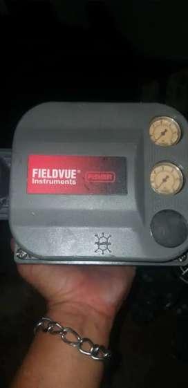 Controlador digital  de Valvulas   Fishers