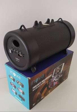 Parlante portatil bazooka inova